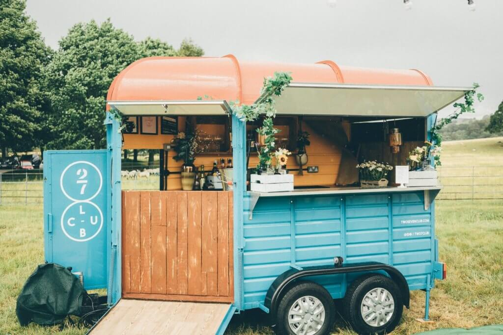 Two Seven Club, pop up bar, mobile bar, weddings and events, weddings, entertainment, wedding reception, cocktail hour, gin bar, prosecco bar, cocktail bar